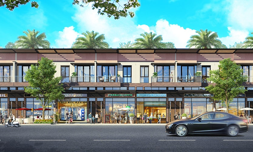 Shophouse waterpoint rivera phoi canh