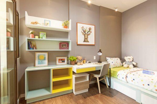 phòng ngủ 2 căn 56m2 mizuki park