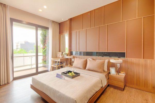 phòng ngủ master 72m2 mizuki park